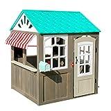 KidKraft 419 Casita de juegos para jardín y exterior al aire libre de...
