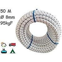 Cuerda Elastica 8mm. Monotex Polietileno. Piscinas (Standard NF P 90-308)