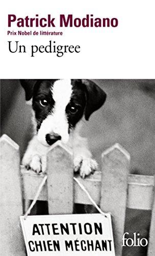 Un pedigree par Patrick Modiano
