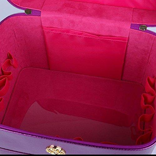 GBT Frau Kosmetiktasche Waschbehälter Kosmetikkästen Blue