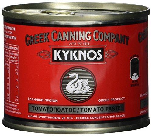 Kyknos doppelt konzentrierte Tomatenpaste 28-30% - 200g Dose, 6er Pack (6 x 200 g)