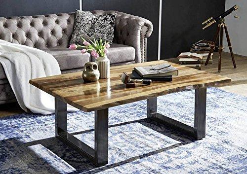 Table basse 120x80cm – Bois massif de palissandre laqué (Noble Unique) - SYDNEY #0318