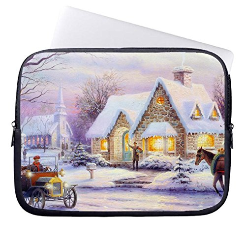 hugpillows-notebook-hulle-tasche-memories-of-christmas-by-thomas-kinkade-notebook-sleeve-cases-mit-r