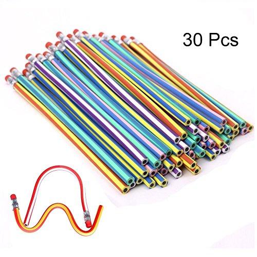 TaleeMall 30 Piezas Lápices Flexible