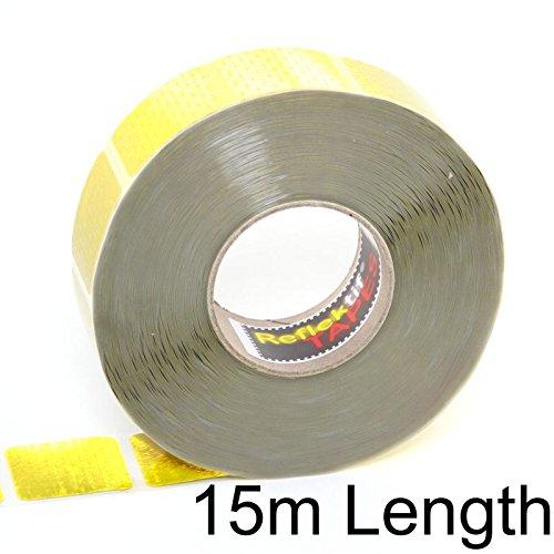 15m giallo Reflexite nastro riflettente tenda grade (ECE 104)-segmentata Style