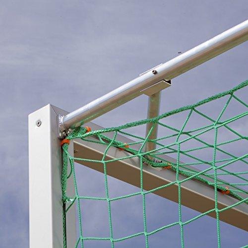 Sport-Thieme Jugendfußballtor 5×2 m, Quadratprofil, transportabel mit Bodenrahmen - 3