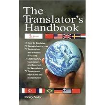 The Translator's Handbook by Morry Sofer (2002-08-01)