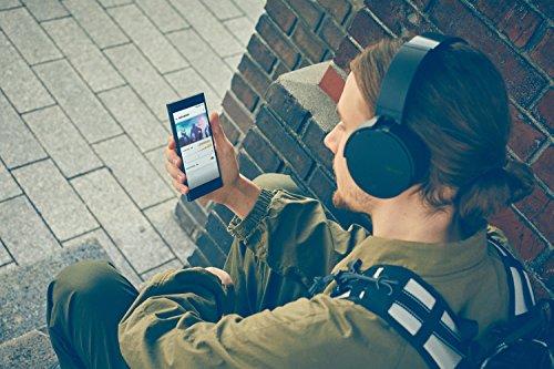 Sony MDR-XB950N1 kabelloser Kopfhörer mit Geräuschminimierung (Noise Cancelling, Extrabass, NFC, Bluetooth, faltbar) schwarz - 17
