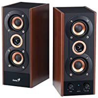 Genius HF-800A 20 W 3 Way Powered Hi-Fi Stereo Speakers