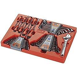 ALYCO 170920 - Bandeja plastico para carro metalico HR con 37 herramientas
