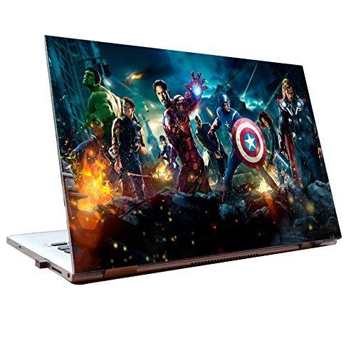 Elton Marvel Avengers Theme 3M Skin Case Vinyl Laptop Skin Case Sticker Reusable Protector Cover Case for 11.6″ -15.6″ Inch