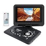 """Wimaha Lettore DVD compatto HDMI Tutte le regioni Supporto gratuito Scheda SD Disco rigido USB DVD AV-In-Out con display a LED da 9 """"e telecomando completo"""