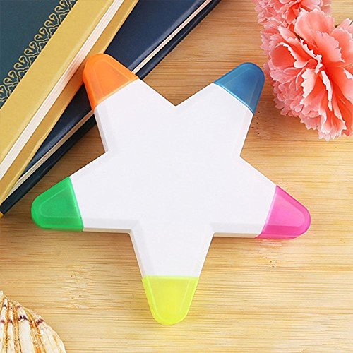 wuudi Pentagramm Student Sticks Pen 5Farbe Creative Geschenke Stationery Office Supplies