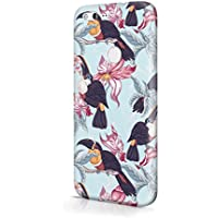 Tropical Tuco Tucan Bird With Orchid Blossom Pattern Durable Hard Plastic Snap-On Plastic Phone Case Cover For Google PIXEL