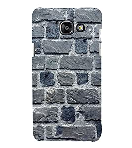 EPICCASE blue brick wall Mobile Back Case Cover For Samsung Galaxy A3 (Designer Case)