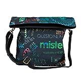 DESIGUAL, Damen Handtaschen, Umhängetaschen, Crossover-Bags, Crossbodys, Mehrfarbig, 29 x 22 x 1 cm (B x H x T)