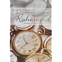 A4 Ruhestandskarte Taschenuhr