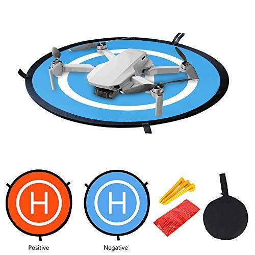 Baslinze Drohne Landeplatz, wasserdichte Universal D 55 cm Tragbare Faltbare Landing Pads für DJI Mavic Mini, Mavic 2 / PRO / Mavic AIR / Spark Drohne