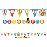 Fisher Price 1st Birthday Jumbo Banners - Pack of 2 - 3M Long