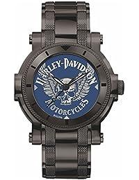 Harley-Davidson Armbanduhr für Herren Medallion Dial 78A117