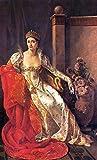 Portrait of Elisa Bonaparte, Grand Duchess of Tuscany - by Marie-Guillemine Benoist - Leinwanddrucke 16x26 Inch Ungerahmt