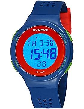 Children's watch schwimmen wasserdicht luminous electronic multi-funktion timing-D