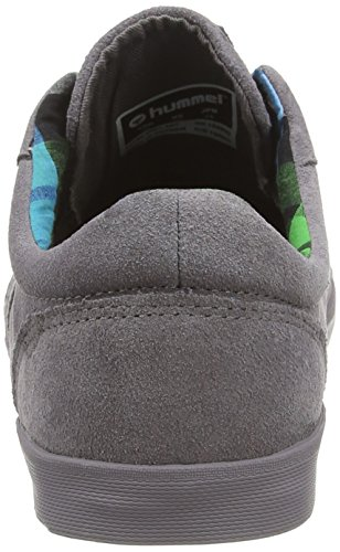 Hummel Hummel Deuce Court Womens Lo, Baskets Basses femme Gris - Grau (Grey 2004)