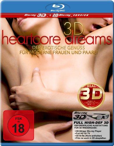 Heartcore Dreams - Der erotische Genuß für moderne Frauen und Paare [3D Blu-ray]