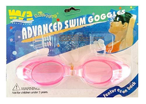 Inception Pro Infinite Schwimmbrille für Erwachsene und Kinder mit Nase und Ohrstöpsel (Pink)
