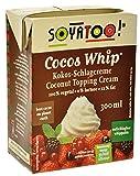Soyatoo Vegane Kokos-Schlagsahne 300 ml, 10er Pack (10 x 300 ml)