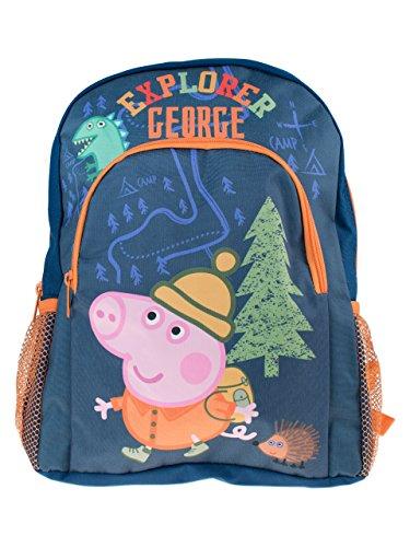 Peppa Wutz Rucksack George (Peppa Pig Maskottchen)