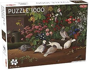 Tactic 55246 Puzzle Puzzle - Rompecabezas (Puzzle Rompecabezas, Flora & Fauna, Niños, Niño/niña, 9 año(s), Interior)