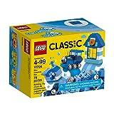 #5: LEGO Classic Blue Creativity Building Blocks for Kids (78 pcs) 10706