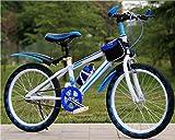 Ciclo di addestramento del bambino di equilibrio dei ragazzi del bambino leggero 6-14 anni bambini ragazzi ragazze che corrono la sicurezza prima mountain bike , blue