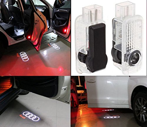 Preisvergleich Produktbild jdwg 1 Paar Auto LED-DOOR Projektor Lamp Gespenst Schatten Willkommen Light Kit Courtesy Logo