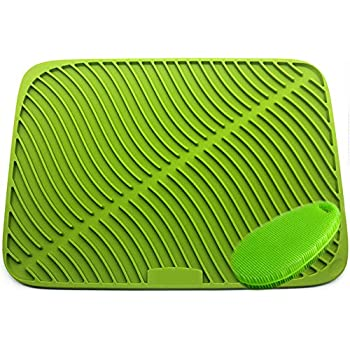Extra Large Silicone Dish Drying Mat Silicone Holder