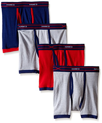 -Temp Ringer Boxer Brief, Assorted, X-Large ()