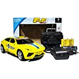 F&F Fully Loaded, Full Function 1:20 Remote Control Car With Rechargeable Batteries And Charger (Yellow(Hatch))
