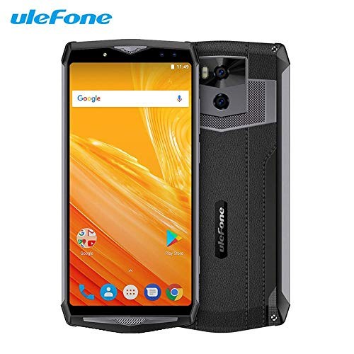 "Kalebay Ulefone Power 5 13000 mAh 4G Smartphone 6.0"" FHD MTK6763 Octa Core Android 8.1 6 GB + 64 GB 21MP Wireless Ladegerät Fingerabdruck Gesicht ID Handy"
