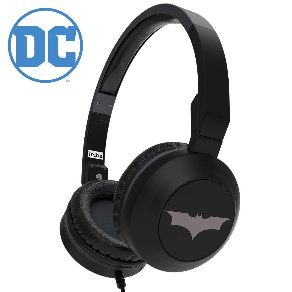 Tribe DC Comics Batman Écouteurs avec housse de voyage