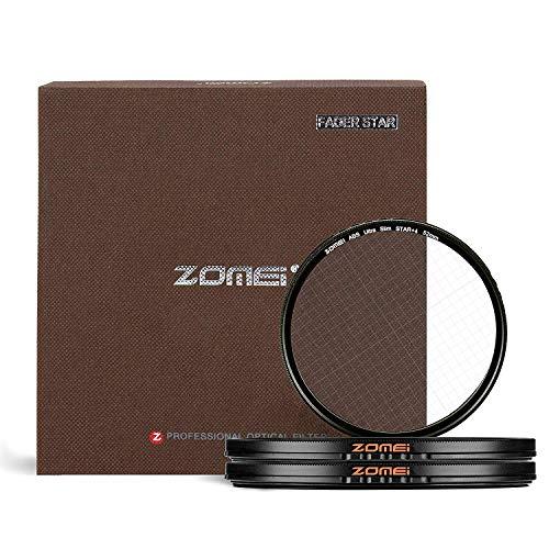 Zomei 77 mm Star Filter 4 punti + 6 punti + 8 punti star-effect Starburst filtro dell' obiettivo per Canon Nikon Sony Olympus e altre fotocamere DSLR