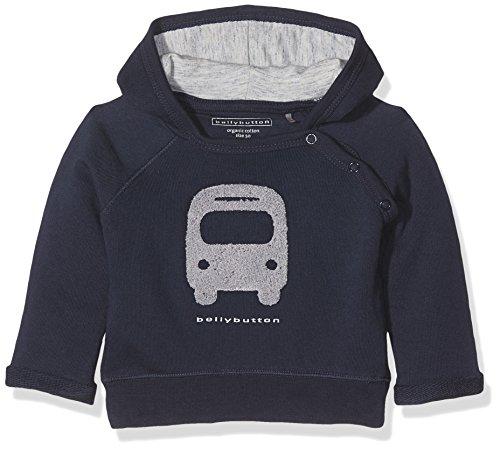 Bellybutton Kids Bellybutton Kids Baby-Jungen Kapuzenpullover Sweatshirt 1/1 Arm m. Kapuze, Blau (Black Iris 3800), 56