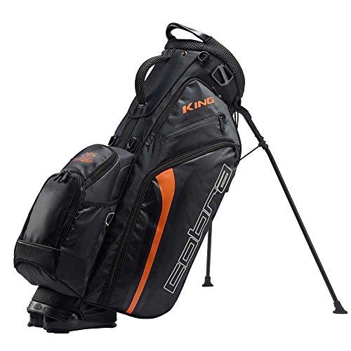 Cobra King Standbag Standbag / Golfbag Puma Golftasche schwarz, Farbe:Schwarz