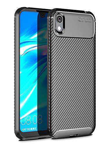 Case Collection Carbonfaser Design Hülle für Huawei Y5 2019 Hülle (5,71