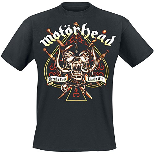 Motörhead Sword Spade Camiseta Negro M