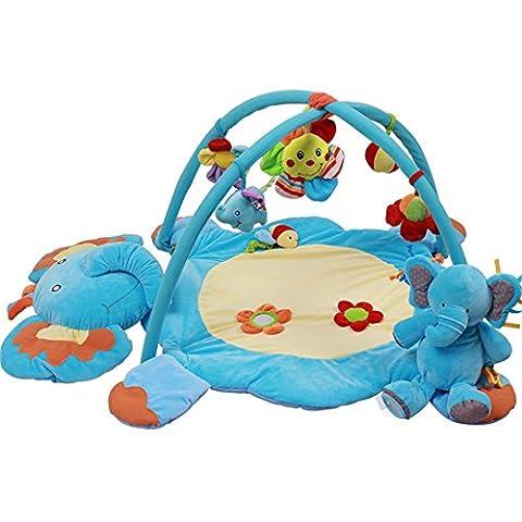 KiKa Monkey Bébé Musical Play Mat Éléphant Tapis d'éveil Jouets
