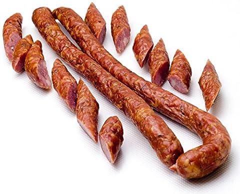 Polish traditional, natural, DRY SMOKED THIN SAUSAGE KABANOS 500 g,