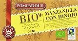 Pompadour Infusión BIO Manzanilla con Hinojo - Pack de 4 x 20 Bolsitas