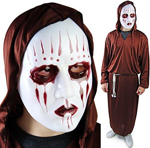 Komplett Halloween Set Reaper Kostüm HORROR JASON Maske (Maske Michael Meyers)