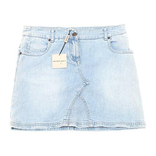 9294G gonna jeans bimba BURBERRY cotone gonne skirts kids [14 ANNI]